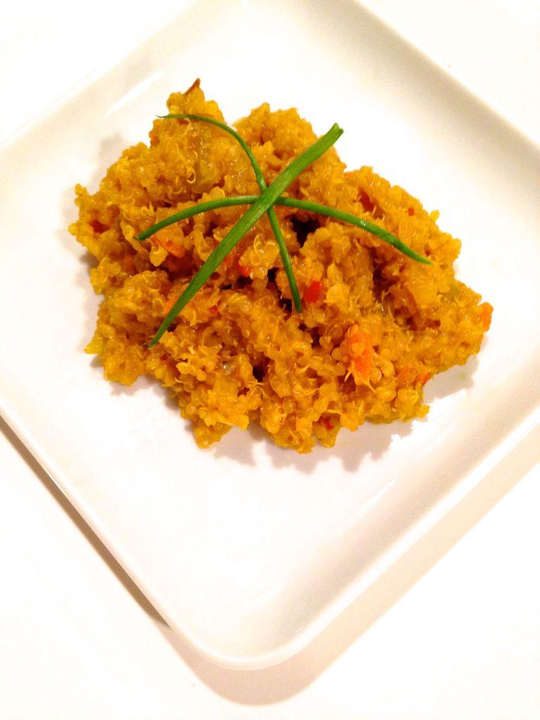 Curry Quinoa Pilaf