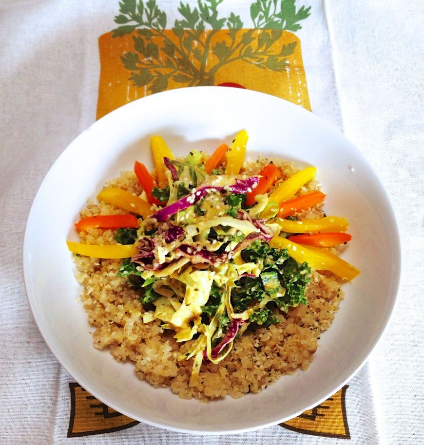 Sunny Curry Crunch Bliss Bowl