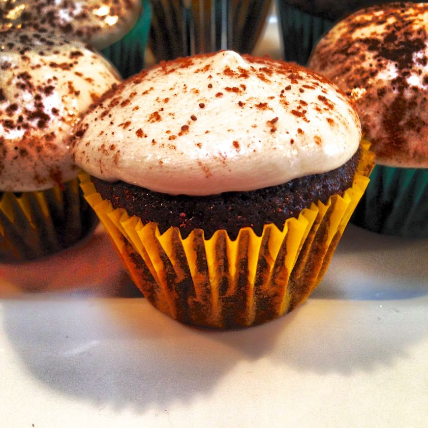 Vegan Milk Chocolate Cupcakes with Buttercream Frosting